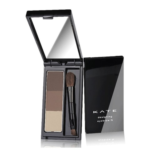KATE Three Color Stereo Eyebrow Powder #Brown EX-5 20g