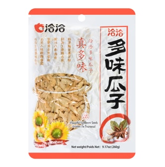 CHA CHA Flavorful Sunflower Seeds Graines De Tournesol 260g