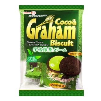 日本TAKARA 宇治抹茶夹心可可饼干 70g