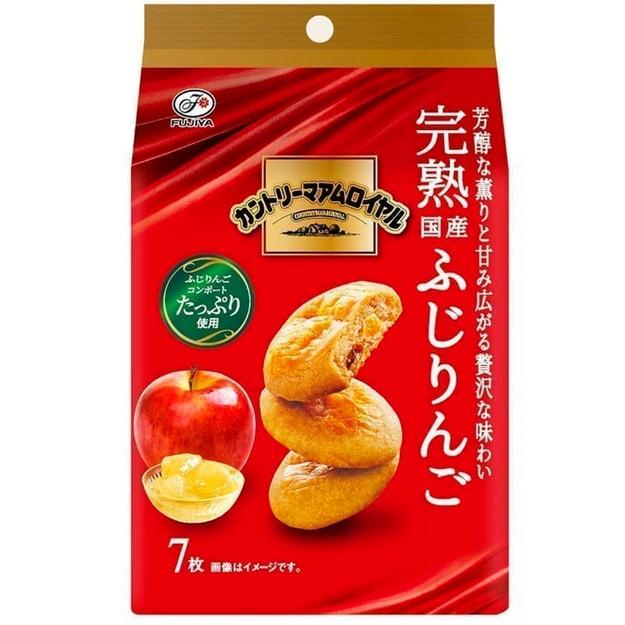 商品详情 - DHL直邮【日本直邮】日本FUJIYA不二家 芳醇完熟富士苹果曲奇 7枚装 - image  0