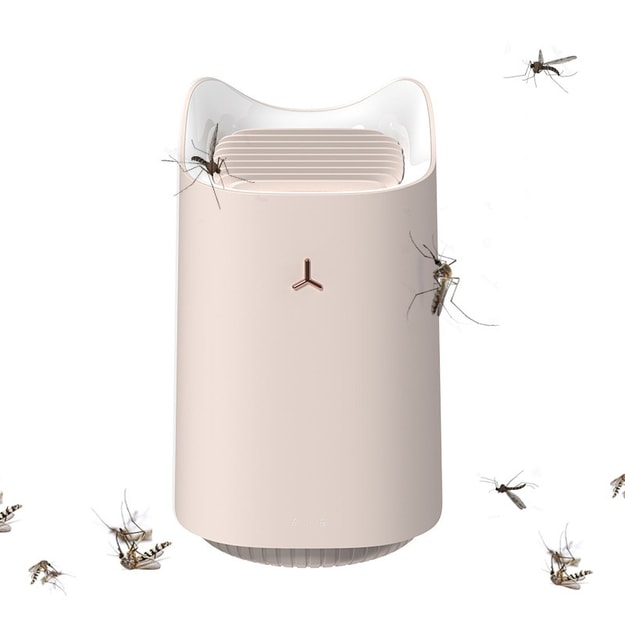 Product Detail - TIMESWOOD LED Mosquito Killer Lamp Bug USB Powered Photocatalyst Mosquito Trap Pest Insect Repellents Pink 1 pc - image 0
