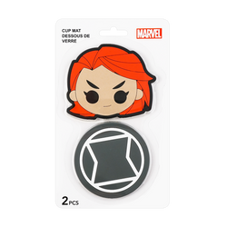 Miniso Marvel Collection Cup Mat 2 Pcs Cartoons Randomly Shipped