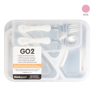 Thinksport GO2 Container (Pink)
