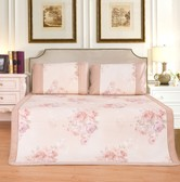 QBEDDING Peony Bing Si Mattress Topper Queen Size 3pcs