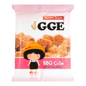 WEILIH GOOD GOOD EAT BBQ Cube Wheat Cracker 80g