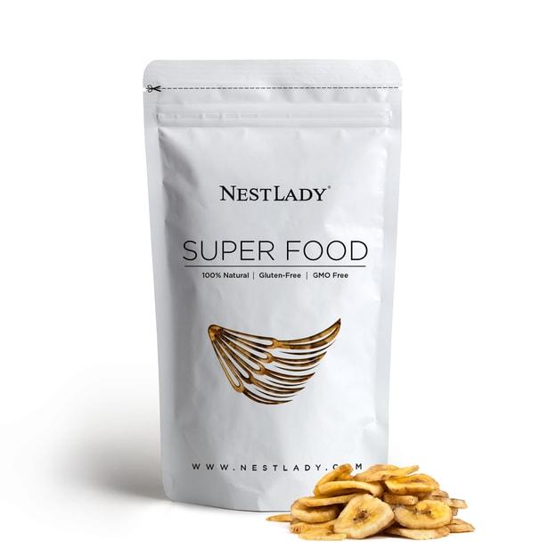 商品详情 - NESTLADY 香蕉片 菲律宾种植与收获 227g/8oz - image  0