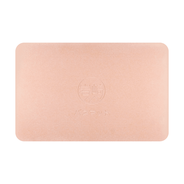 Product Detail - IWASAKI Natural Diatomite Floor Mat Upgraded Pink 60*39cm - image 0