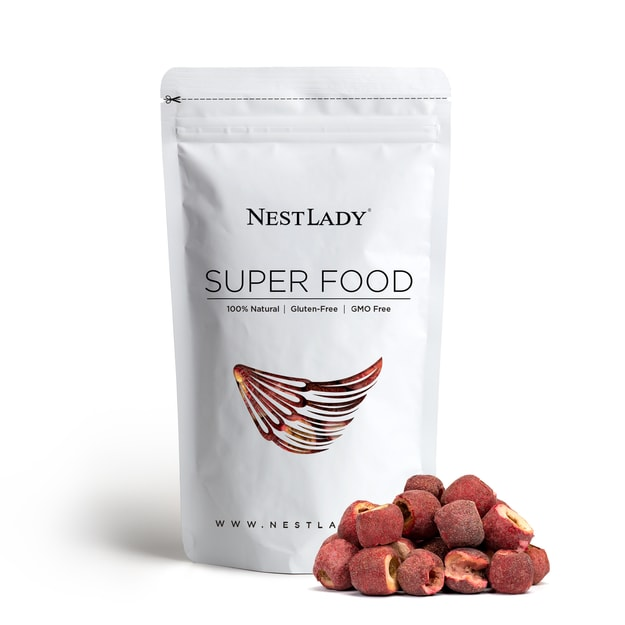 Product Detail - NESTLADY Freeze-dried Organic Hawthorn Berry Coolberry Gluten-Free Healthy Herbal Tea 60g - image 0