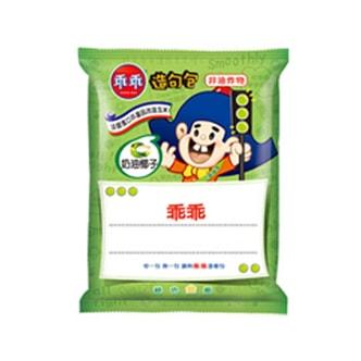 台湾乖乖 造句包 非油炸玉米果 奶油椰子味 52g 童年回忆
