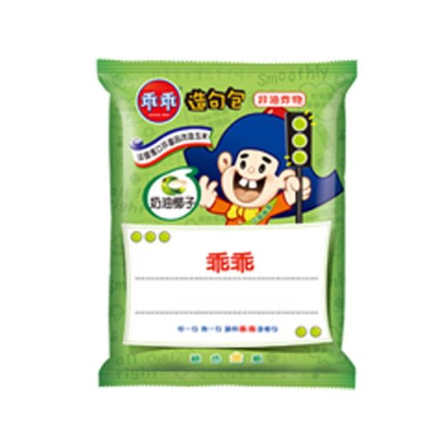 商品详情 - 台湾乖乖 造句包 非油炸玉米果 奶油椰子味 52g 童年回忆 - image  0
