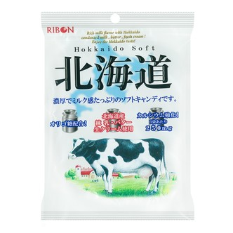 日本RIBON 北海道特浓牛奶糖 110g