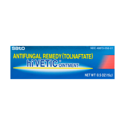 SATO HI VETIC Antifungal Remedy (Tolnaftate) Ointment 15g