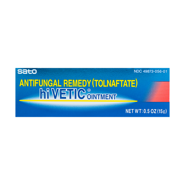 Product Detail - SATO HI VETIC Antifungal Remedy (Tolnaftate) Ointment 15g - image 0