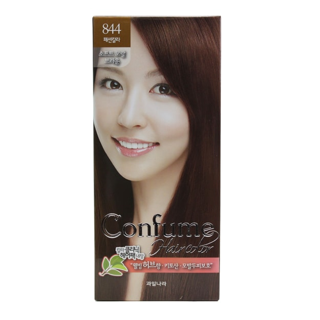 Product Detail - FRUIT LAND CONFUME Hair Color #844SoftKoralBrown - image 0