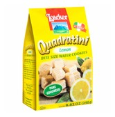 LOACKER Quadratini Bite Size Wafer Cookies Lemon Flavor 250g
