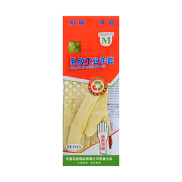 Hongfu Latex Industrial Gloves M size