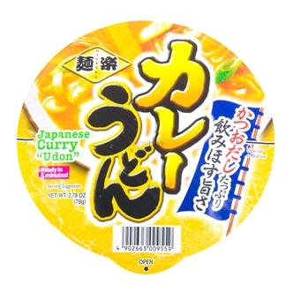 日本HIKARI 日式咖喱味乌冬面 79g
