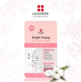 LEADERS EX Solution Bright Toning Mild Cotton Mask 5ea