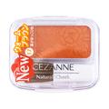 【日本直邮】日本CEZANNE 自然腮红 N17暖棕色 COSME大赏第一位