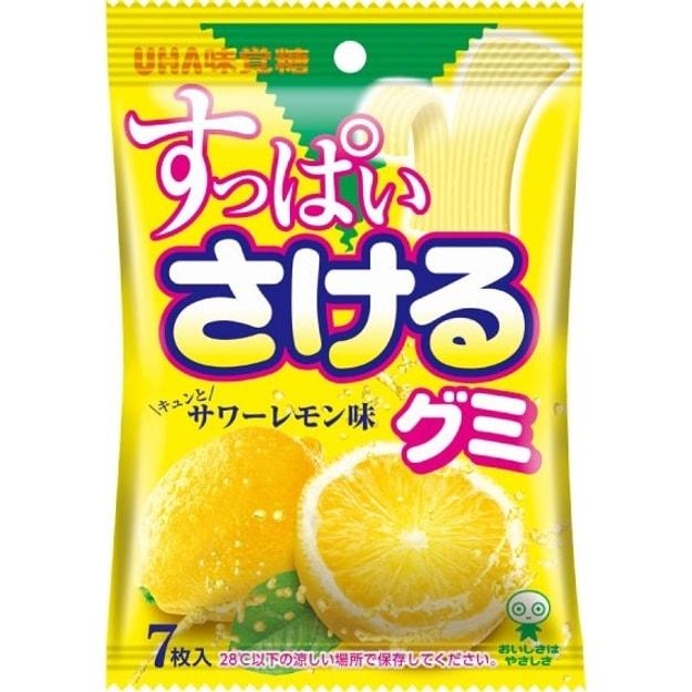 商品详情 - DHL直发【日本直邮】日本悠哈UHA手撕软糖 最新登场 柠檬口味 7枚 - image  0