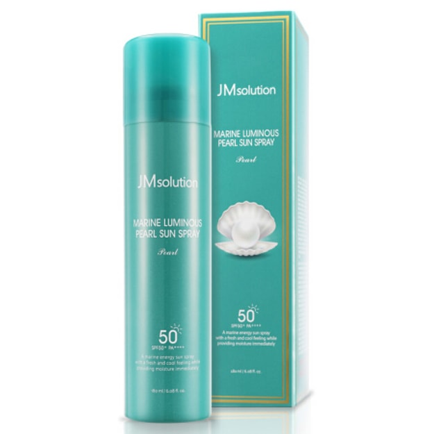 Product Detail - JMSOLUTION Marine Luminoso Perla Sun Spray SPF50+ PA+++ 180ml - image 0