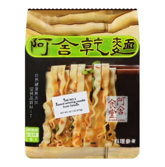 A-SHA Hakka Noodle 5packs -Spicy Sesame Oil Flavor 475g
