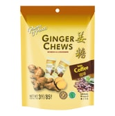 PRINCE OF PEACE Ginger Chews with Coffee Flavor 85g
