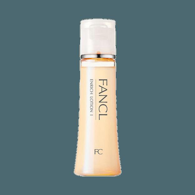 商品详情 - FANCL 芳珂||ENRICH 胶原蛋白提拉紧致保湿补水化妆水||I 清爽型 30mL - image  0