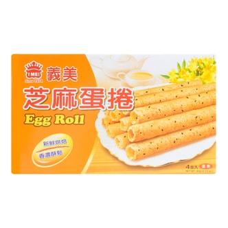 台湾IMEI义美 芝麻蛋卷 4支入 60g