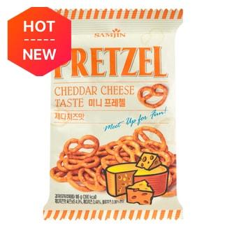 SamJin Cheesy Pretzel Snack 85g