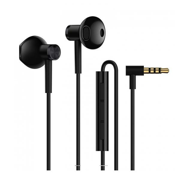 小米双单元半入耳式耳机 #黑色 怎么样 - 亚米网