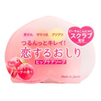 日本PELICAN 去角质光滑蜜桃美臀皂 80g