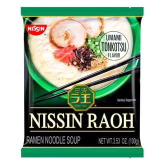 日本NISSIN日清 RAOH 猪骨浓汤拉面 豚骨味 100g