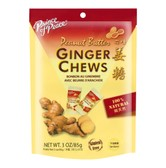 PRINCE OF PEACE Ginger Chews with Mandarin Peanut Butter Flavor 85g