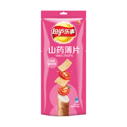 Yam Chips Tomato Flavor 80g