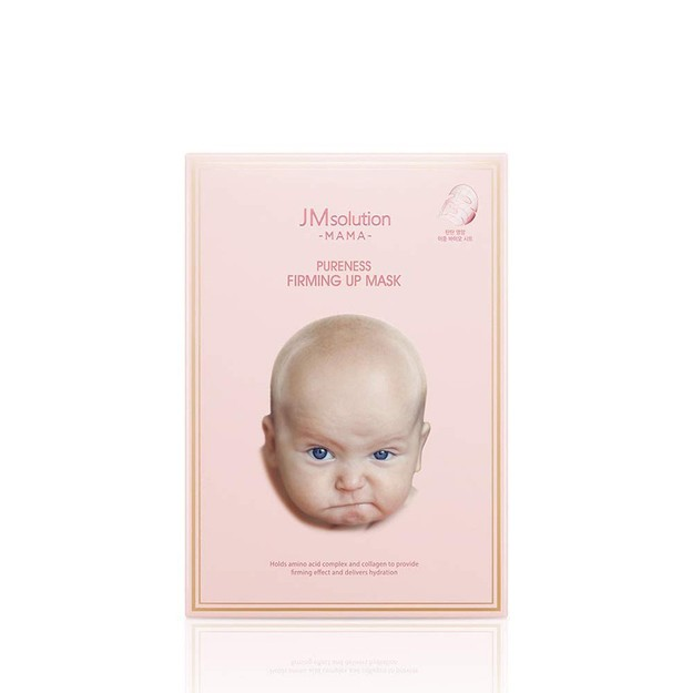 商品详情 - 韩国 JM SOLUTION 粉色系列 童颜面膜 紧致提拉 孕妇可用 10片入 - image  0