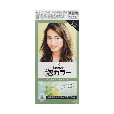 Liese Prettia Creamy Bubble Hair Color, British Ash