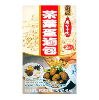 TOMAX Spice Pouch For Tea Egg 40g
