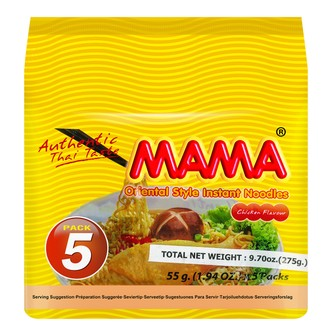MAMA INS Noodle Chicken Flavor 5Pack 275g