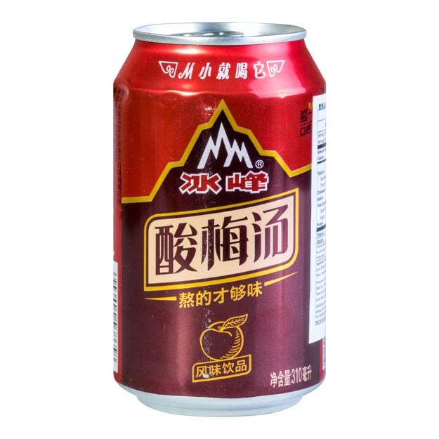 商品详情 - 冰峰 酸梅汤 310ml - image  0