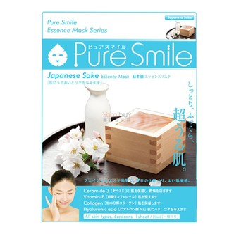 日本PURE SMILE 精华面膜 日本酒细腻毛孔 单片入