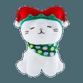 名创优品MINISO 圣诞系列 坐姿可爱小猫公仔(小丑帽)