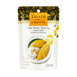 Freeze Dried Crispy Mango Sticky Rice 20g
