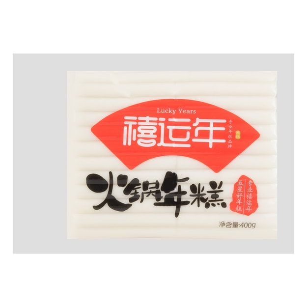 Product Detail - LUCKY YEARS Hot Pot Rice Cake 400g - image 0