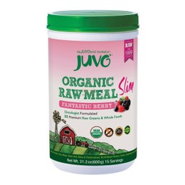JUVO Organic Raw Meal Berry Slim 600g
