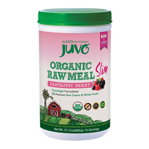 Product Detail - JUVO Organic Raw Meal Berry Slim 600g - image 0