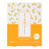 日本惠之本铺 温泉水啫喱面膜系列 薰衣草修护啫喱面膜 4片入