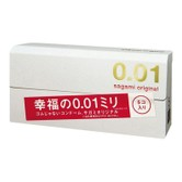 [日本直邮]日本SAGAMI 幸福001 超薄安全避孕套 5片入