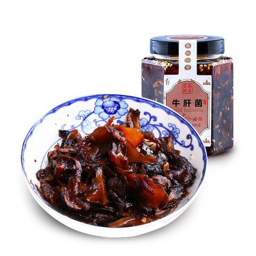 KAIYAOFOOD Boletus Mushrooms in Oil 300g