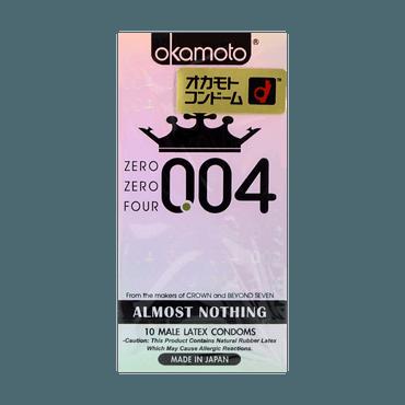 日本OKAMOTO冈本 004系列 安全避孕套 10个装 包装随机发送
